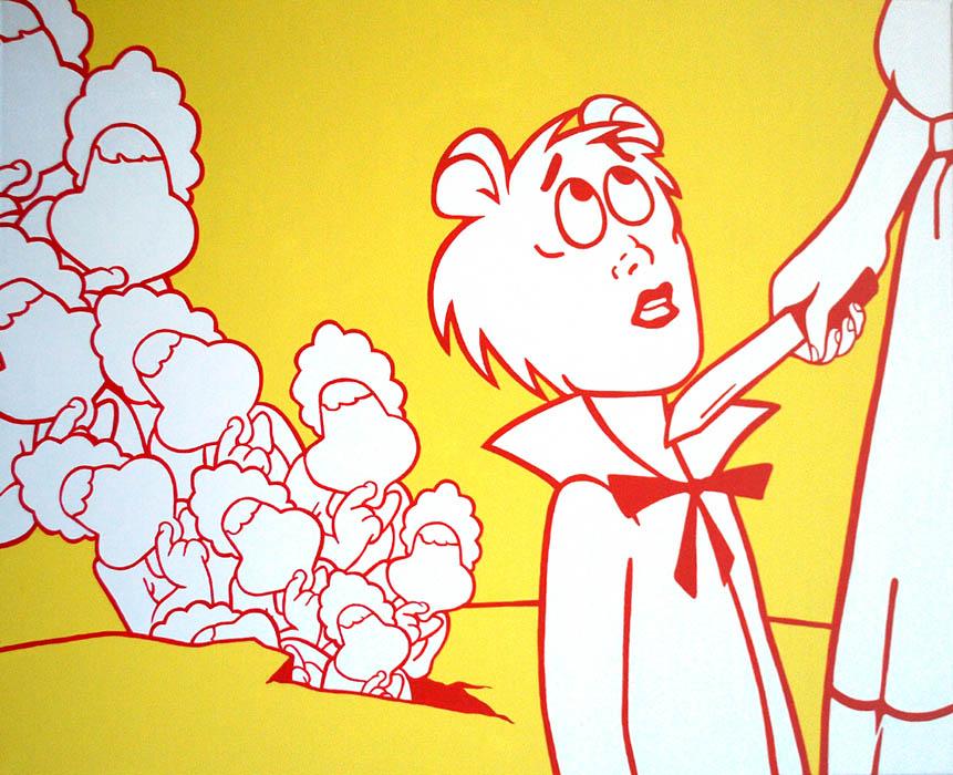 Pop   Cartoon   Retro Paintings   Wall Art